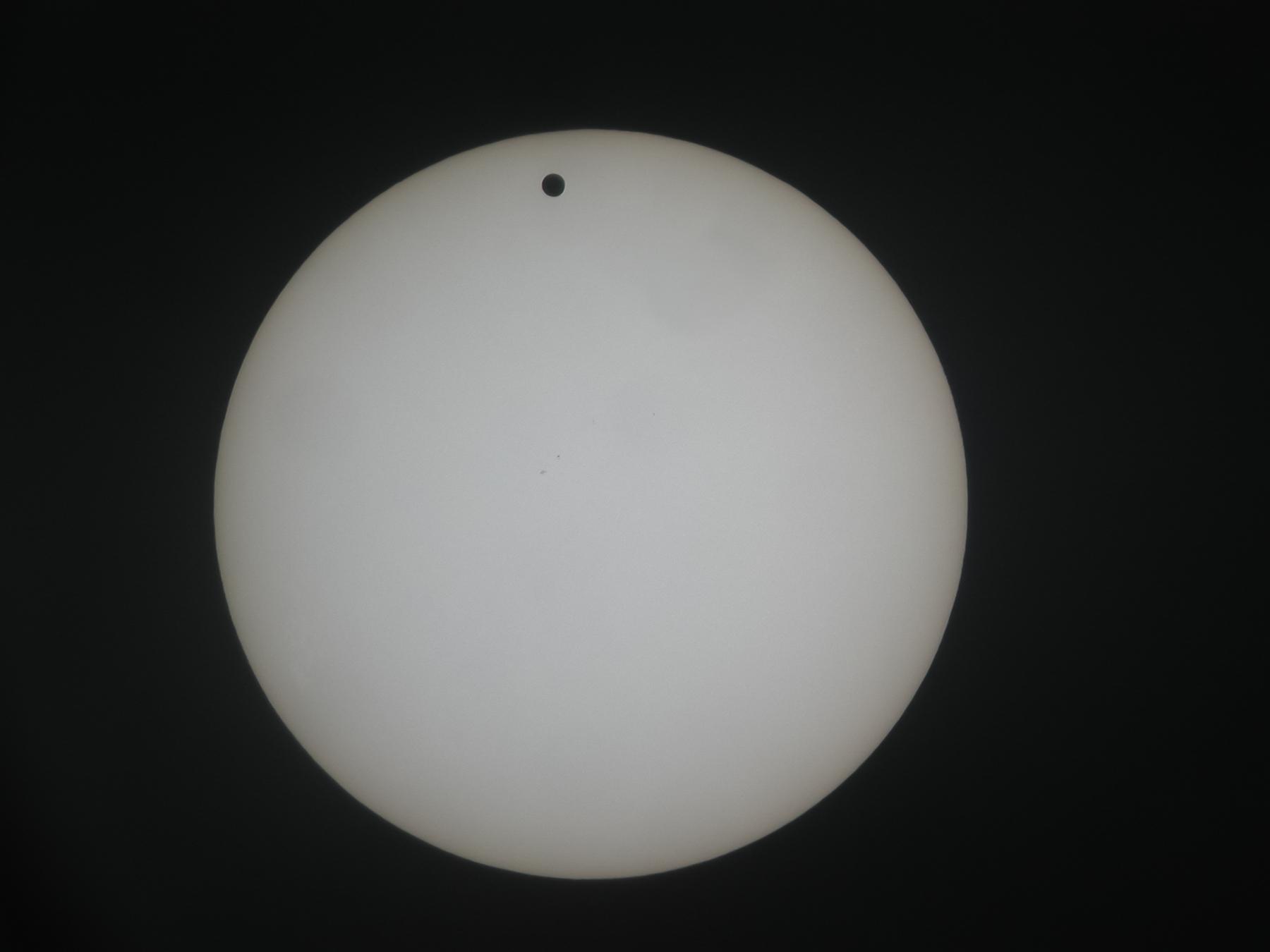 Astrofotografie - Doek voor de zon ...